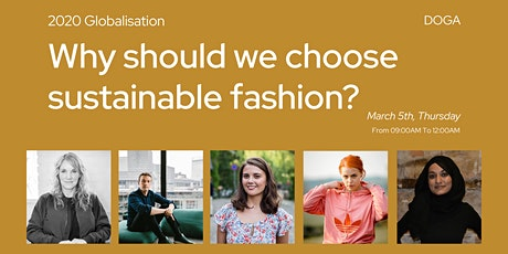 DGF2020 // Why should we choose sustainable fashion? tickets