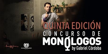 Concurso de Monologos by Gabriel Córdoba entradas