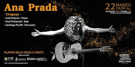 Ana Prada en Valencia entradas