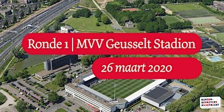 Burgerbegroting | Ronde 1 | MVV Geusselt Stadion 2020 tickets