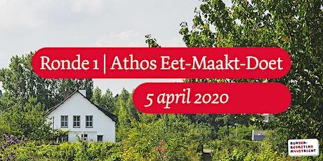 Burgerbegroting   Ronde 1   Athos Eet-Maakt-Doet 2020 Tickets