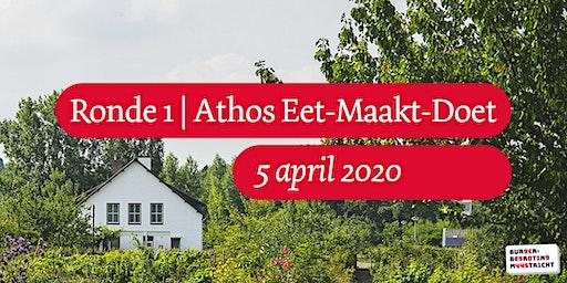 Burgerbegroting | Ronde 1 | Athos Eet-Maakt-Doet 2020