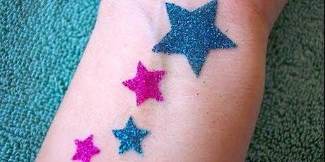Glitter Tattoos for Eid tickets