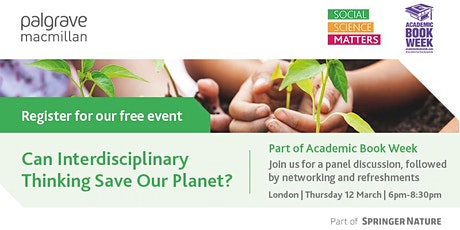 Can interdisciplinary thinking save our planet? tickets