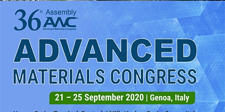 36th Assembly of Advanced Materials Congress 2020 biglietti
