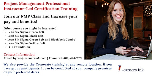 Project Management Professional Certification Training (PMP® Bootcamp)in Bridgeport