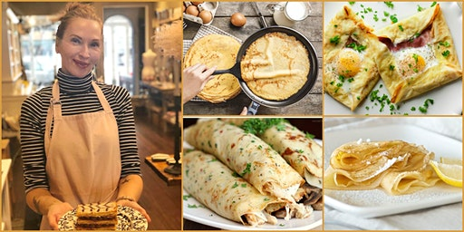 Mother's Day Crepe Workshop, with Tess Kelly
