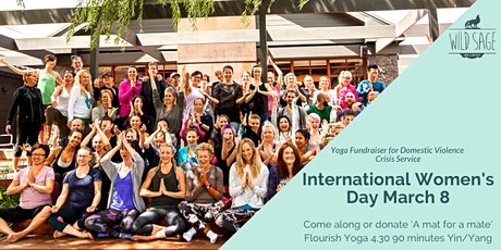 Embodying the Wild Within - IWD Yoga Fundraiser for DVCS tickets