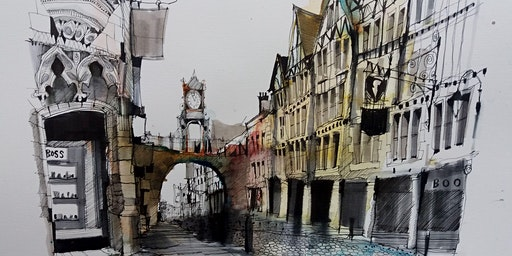 Urban Sketching - The Journey of Looking