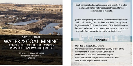 WATER & COAL MINING tickets