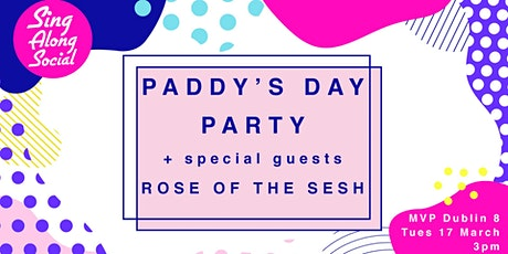 Sing Along Social Paddy's Day Party tickets