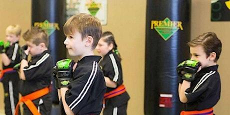 FREE Beginning Karate Workshop for KIDS!  Children 5 -12 years old. tickets