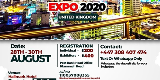 Birmingham Uganda Investment expo