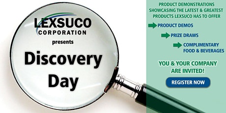 Lexsuco Discovery Day tickets