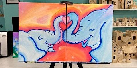 Parent/Child Painting (Elephants)