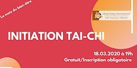 Initiation Tai Chi Chuan billets