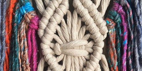 Macramé Wall Hanging Workshop - beginners tickets