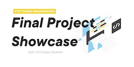Software Engineering Final Project : Showcase    Flatiron School London tickets