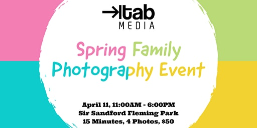 Spring Family Photography Event