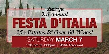 Zachys' Third Annual Festa D'Italia tickets