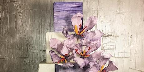 Saffron Wafer Paper Flowers Masterclass tickets