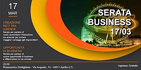 Business info Aprilia biglietti