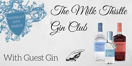 Hayman's Gin Club at The Milk Thistle tickets