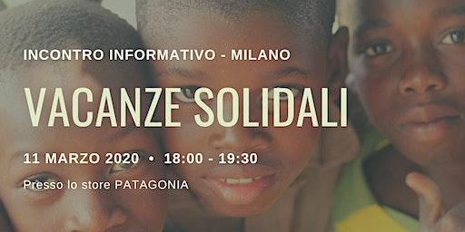 Incontro Informativo Vacanze Solidali 2020
