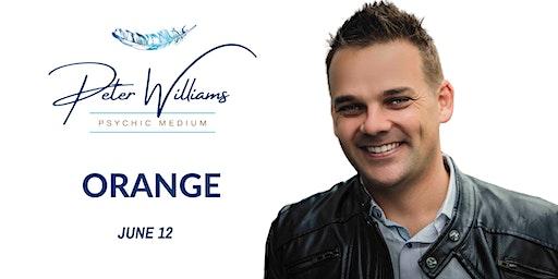 Orange - Peter Williams Medium Searching Spirit Tour