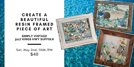 Beautiful Resin 8x10 Artwork Creations with Saltwater Studio!! tickets