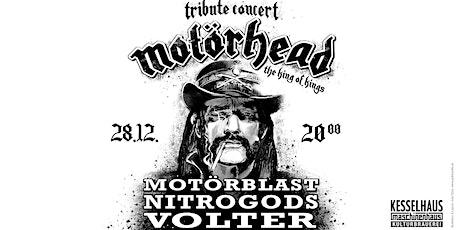 Motörhead Tribute mit Motörblast, Nitrogods und Volter Tickets