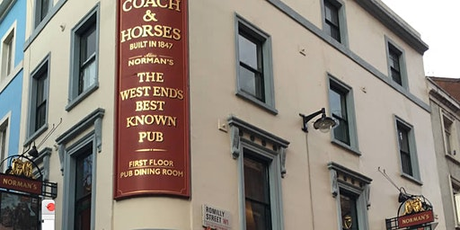 The Literary Haunts of London. A Tasting Tour of Soho Pubs