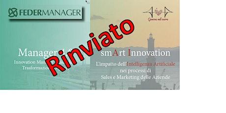 MANAGER 4.0 smArt Innovation - L'impatto dell'AI nei processi di Sales e Marketing biglietti