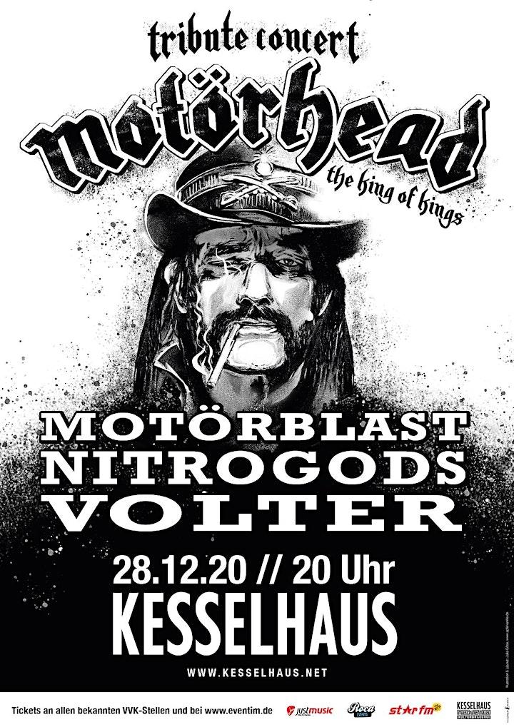 Motörhead Tribute mit Motörblast, Nitrogods und Volter: Bild