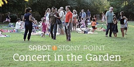 Sabot's Concert in the Garden tickets
