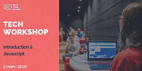 Tech Workshop - Introduction à Javascript billets