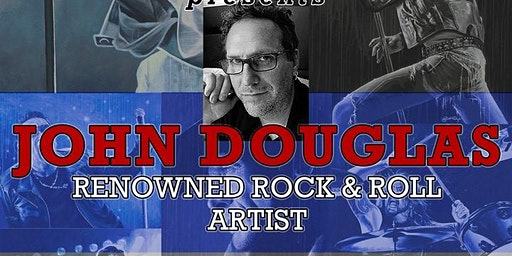 Drummer and Rock & Roll Fine Artist John Douglas to Exhibit New Collection