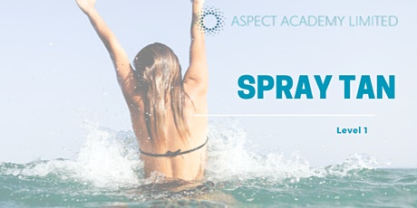 Spray Tanning Level 1, Fully Accredited Qualification. tickets