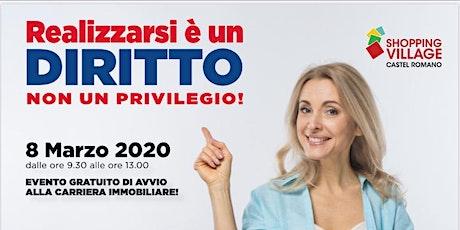 8 MARZO - AVVIO ALLA CARRIERA IMMOBILIARE IN REMAX PROPERTY tickets