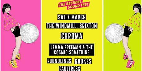 The Bechdel Sound Test Weekender - Live Bands tickets