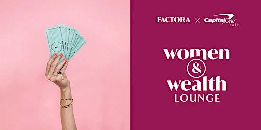 Women & Wealth Lounge