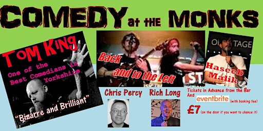 Comedy at The Monks