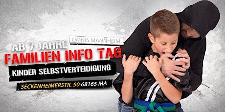 Familien Info Tag - für Grundschulkinder ab 7 Jahren Tickets