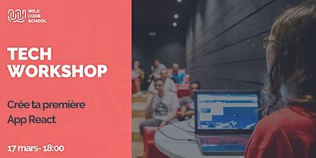 Tech Workshop - Crée ta première App React billets