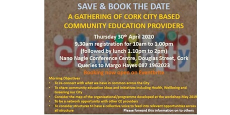 A Gathering of Cork City Community Education Providers tickets