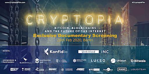 #CryptopiaFilm Premiere in Berlin / Blockchain Doc