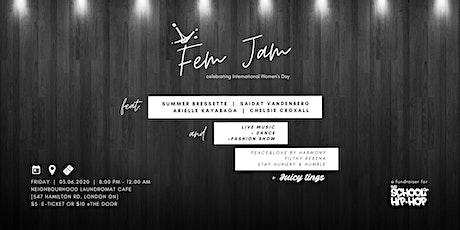 Shh. Fem Jam 2.0 tickets
