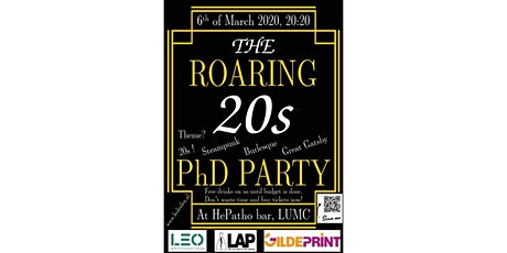 The ROARING 20s PhD PARTY tickets