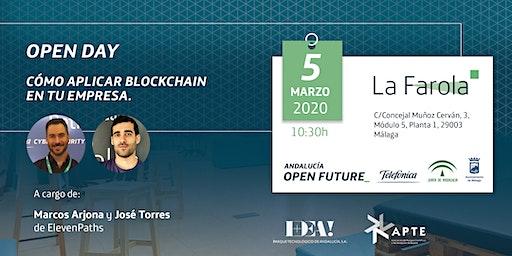 Open Day en La Farola. 'Cómo aplicar Blockchain en tu empresa'