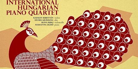 International Hungarian Piano Quartet billets